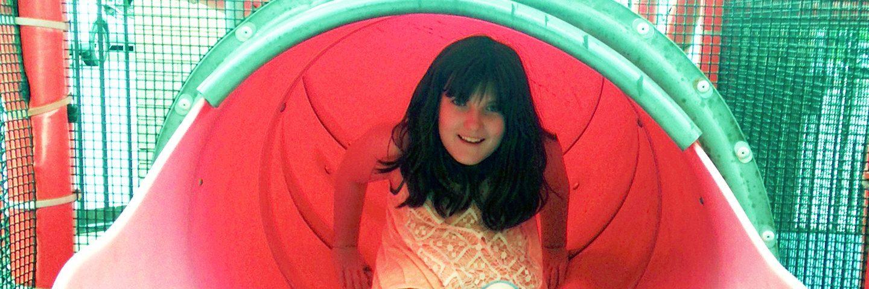 Child on slide